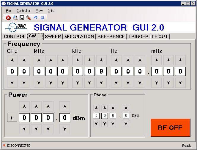 20 ghz rf signal generator module